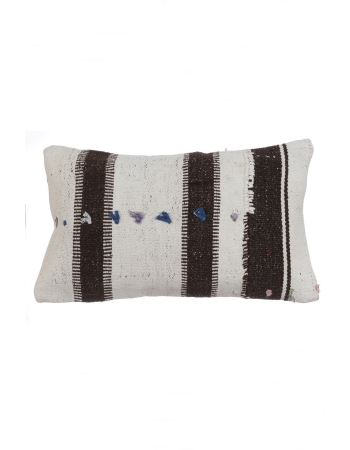 Vintage Striped Kilim Pillow Cover