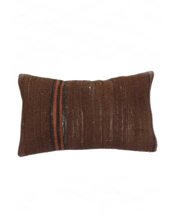 Brown Vintage Kilim Pillow Cover