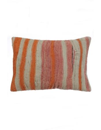 Striped Handmade Kilim Pillow Cover