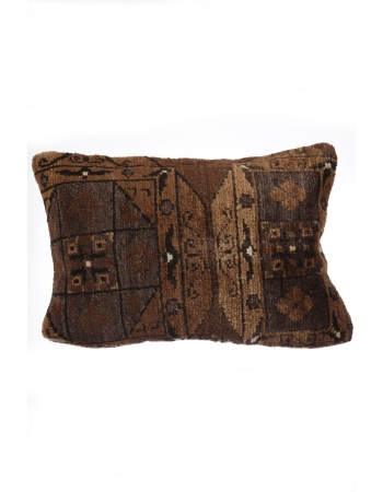 Brown Vintage Pillow Cover