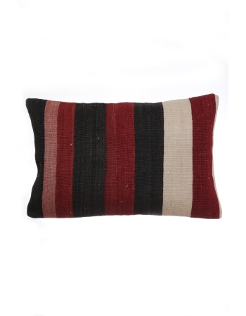 Red & Black Vintage Kilim Pillow