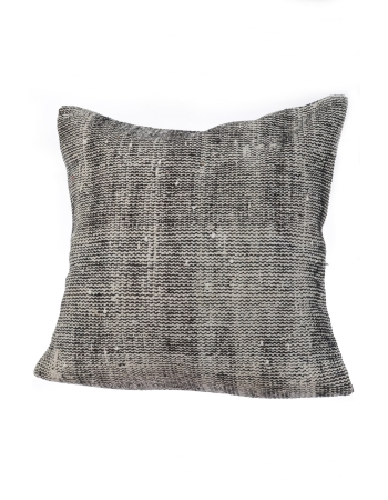 Gray Vintage Pillow Cover