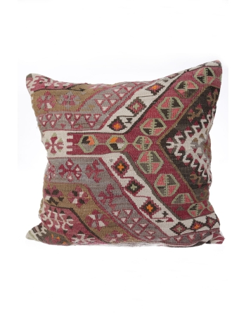 Vintage Handmade Kilim Pillow Cover