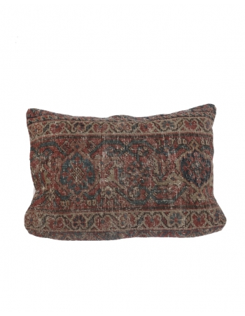Distressed Antique Pillow Cover