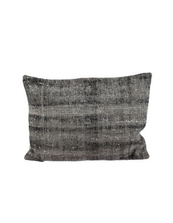 Gray Vintage Large Pillow Cover