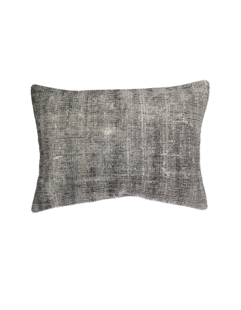 Gray Large Vintage Pillow Cover