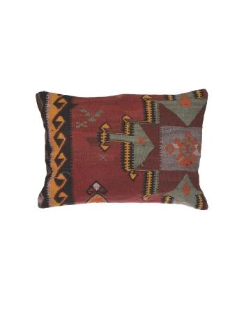 Vintage Handmade Large Kilim Pillow
