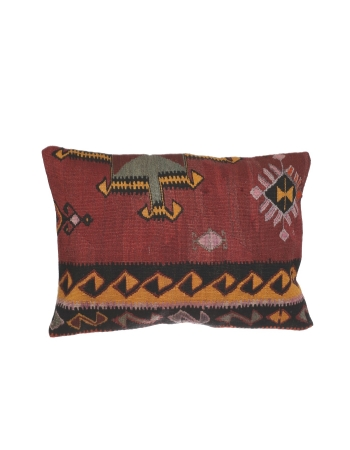 Large Vintage Kilim Pillow Cover