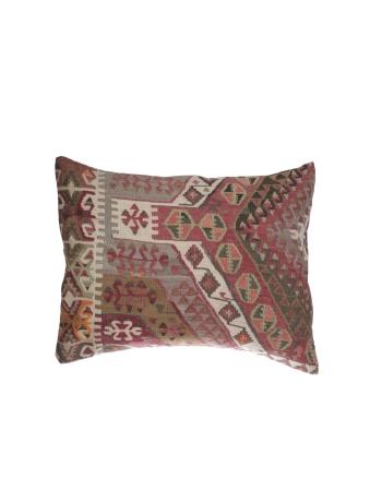 Large Vintage Decorative Kilim Pillow