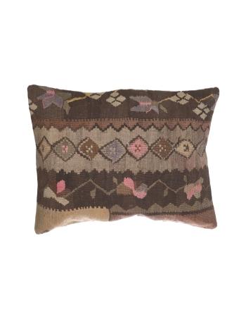 Large Handmade Vntage Kilim Pillow