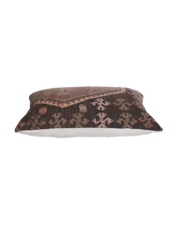 Large Vintage Turkish Kilim Pillow