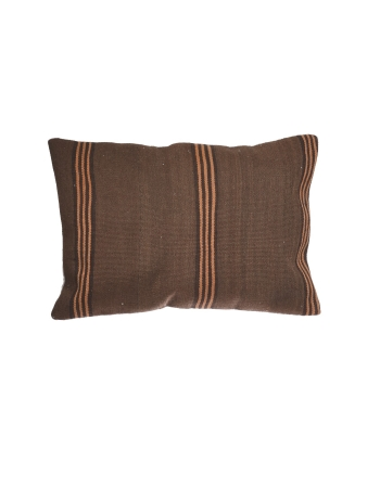 Brown & Orange Large Kilim Pillow