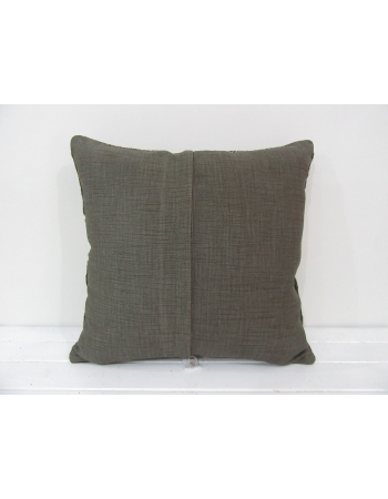 Handmade kilim pillow cover brown white
