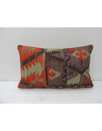 Antique Decorative Turkish Kilim Pillow