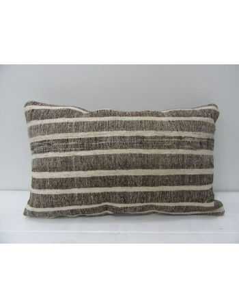 Striped Vintage Decorative Kilim Pillow