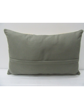 Embroidered Vintage Kilim Pillow