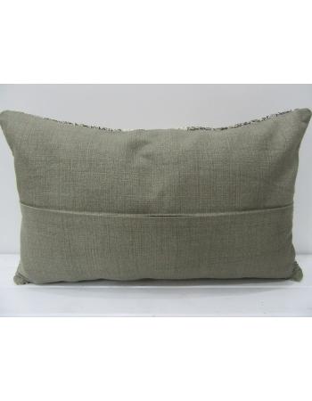 Gray & White Striped Kilim Pillow