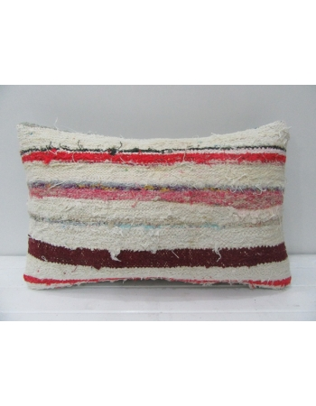 Vintage Striped Handmade Kilim Pillow