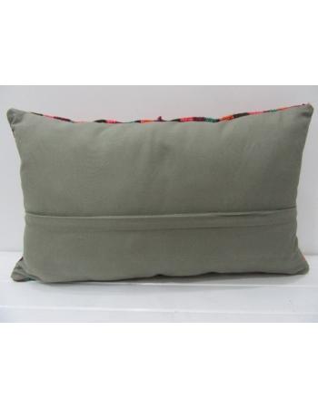 Striped Vintage Colorful Kilim Pillow