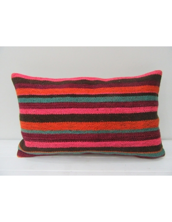 Colorful Vintage Kilim Pillow Cover