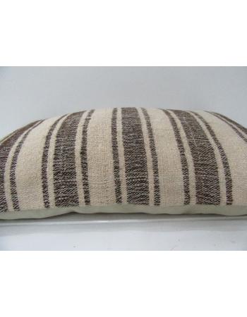 Striped Handmade Decorative Kilim Pillow