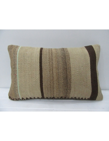 Vintage Brown Kilim Pillow