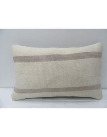 Striped Vintage Modern Kilim Pillow