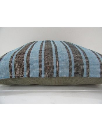 Handmade Striped Decorative Kilim Pillow Cover