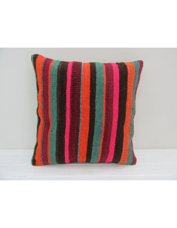 Striped Colorful Handmade Pillow Cover