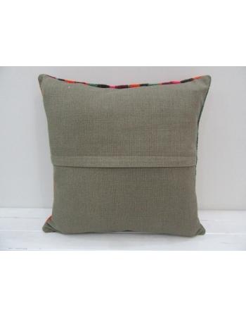 Striped Colorful Handmade Kilim Pillow