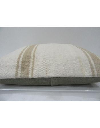 Vintage Striped Handmade Kilim Pillow