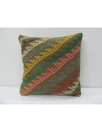 Embroidered Handmade Kilim Pillow