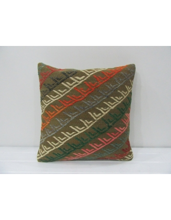 Embroidered Unique Kilim Pillow