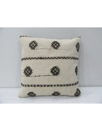 Handmade Vintage Embroidered Kilim Pillow