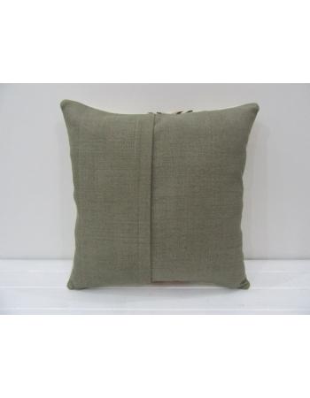 Handmade Vintage Embroidered Kilim Pillow