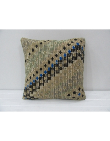 Vintage Handmade Cotton Kilim Pillow