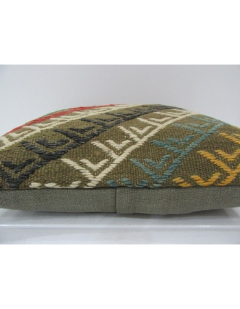Handmade Embroidered Turkish Kilim Pillow