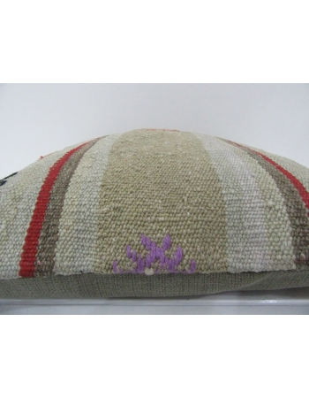 Handmade Vintage Turkish Kilim Pillow
