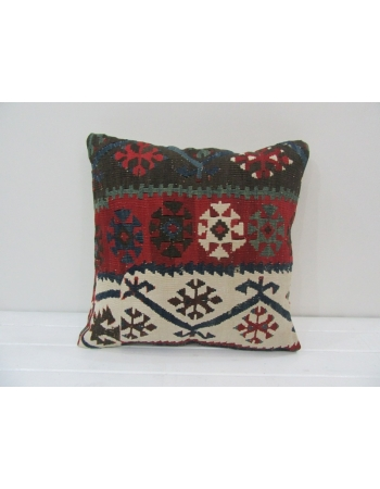 Handmade Antique Turkish Kilim Pillow