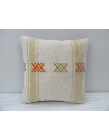 Vintage Modern Turkish Kilim Pillow