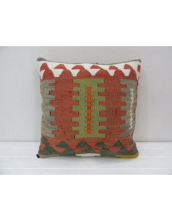Handmade Vintage Turkish Kelim Pillow