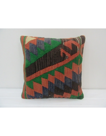 Vintage Decorative Turkish Kilim Pillow