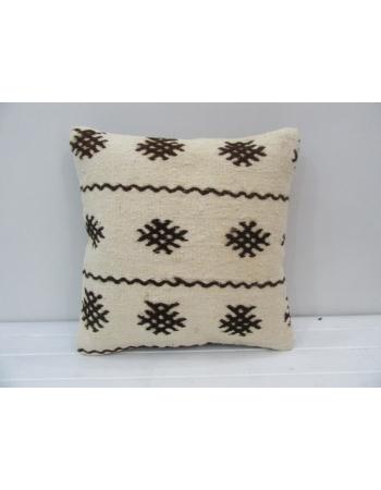 Handmade Vintage Modern Kilim Pillow