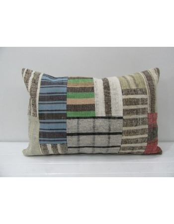 Vintage Decorative Kilim Patchwork Pillow