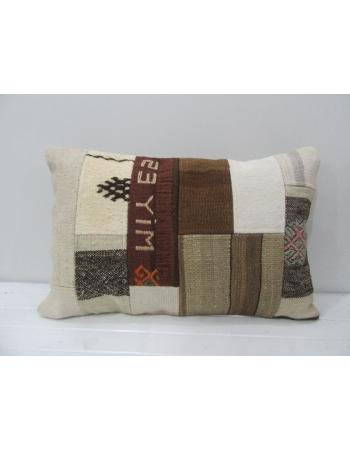 Decorative Vintage Kilim Patchwork Pillow