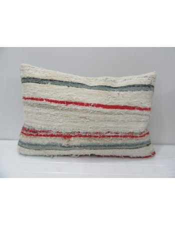 Vintage Red Striped Kilim Pillow