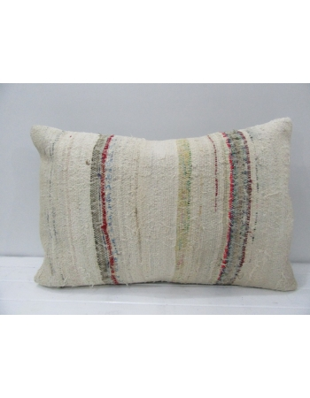 Handmade Vintage Striped Pillow