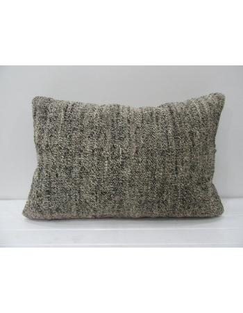 Gray Vintage Kilim Pillow