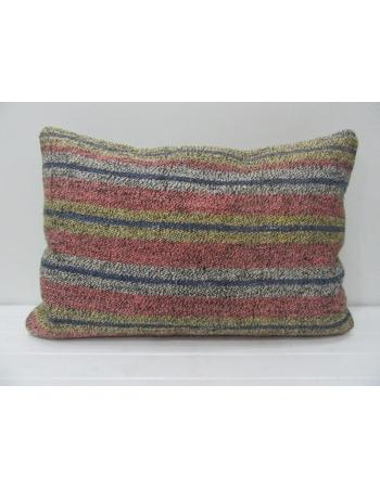 Vintage Striped Goat Hair Kilim Pillow