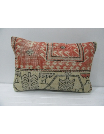 Rust & Tan Vintage Pillow